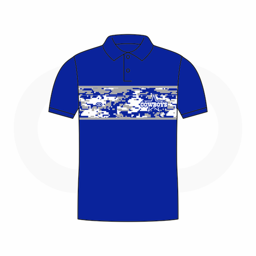 Blue Star Cowboys Polo Shirt