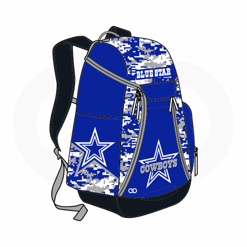 Blue Star Cowboys Backpack