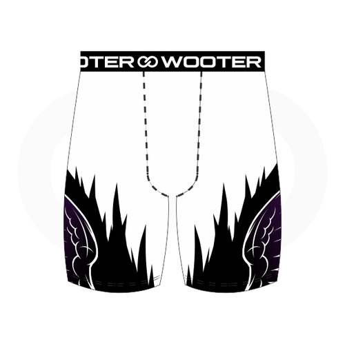 Grant You Wings Compression Short - White