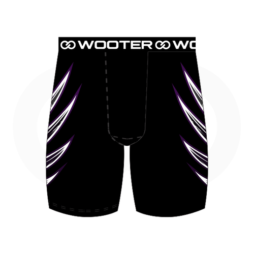 Grant You Wings Compression Short - Black
