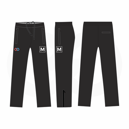 Youth Track Pant Sizing Kit