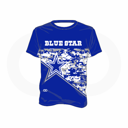 Blue Star Cowboys T-Shirt (Royal)