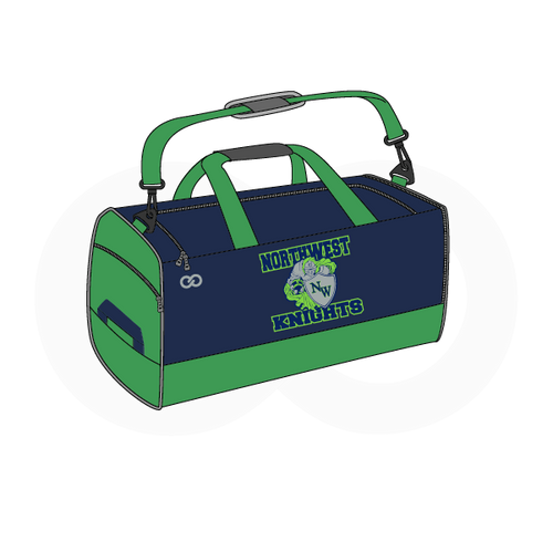Northwest Knights Football Duffle Bag