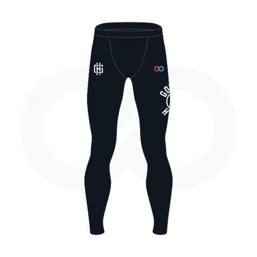 Gotham Hoops Basketball Compression Tights