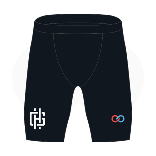 Gotham Hoops Basketball Compression Shorts
