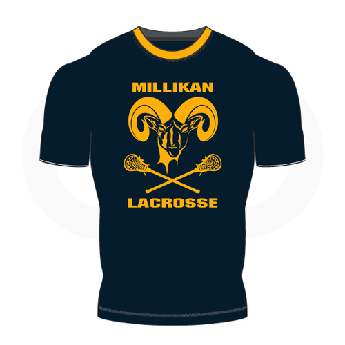 Millikan Lacrosse Short Sleeve Compression Shirt