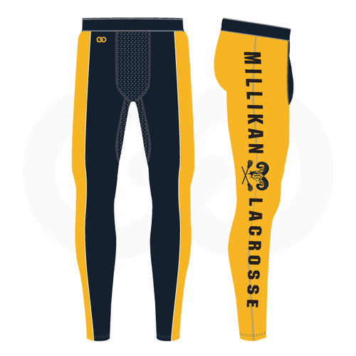 Millikan Lacrosse Compression Tights