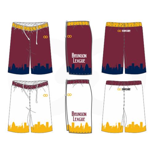 Brunson League Reversible Shorts - Cavs