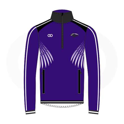 South Augusta Hawks Purple Warmup Jacket