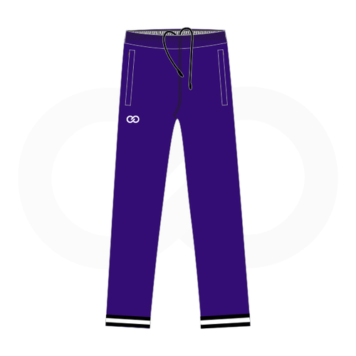 South Augusta Hawks Purple Warmup Pants