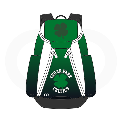 Cedar Celtics Basketball Backpack