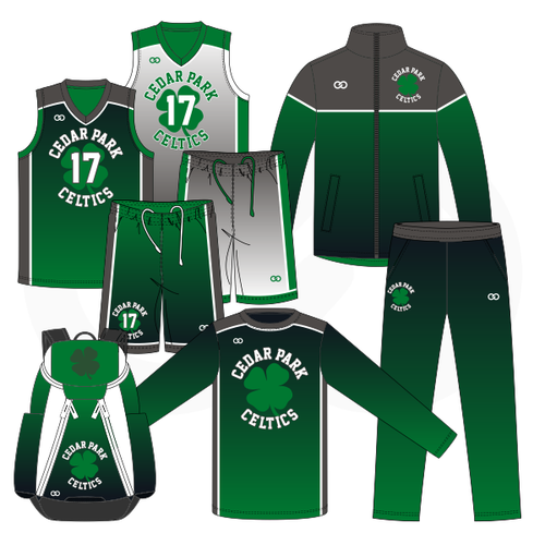Cedar Celtics Basketball MVP Package