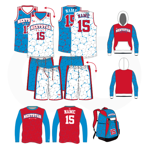 Nextstar Basketball Reversible Champion Package
