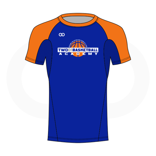 Two01 Basketball Short Sleeve Compression Shirt