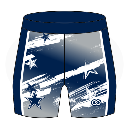 Hilltop Cheer Compression Shorts