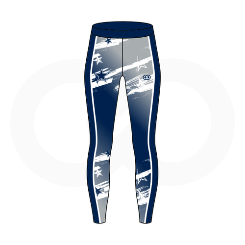 Hilltop Cheer Compression Tights