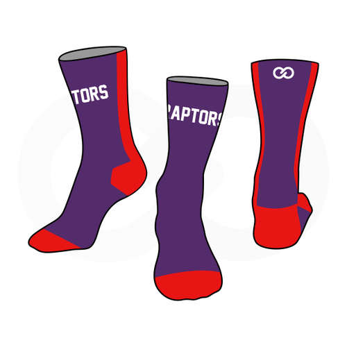 Club One Raptors Socks
