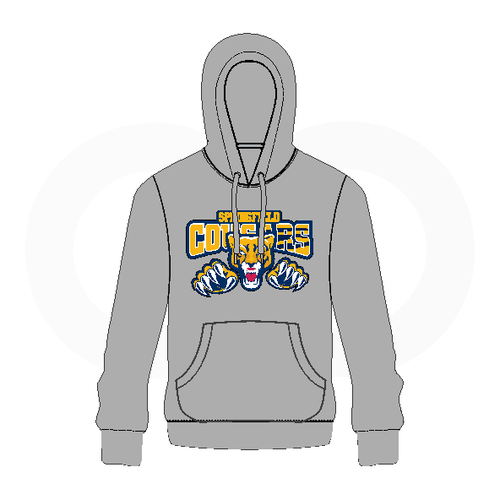 Springfield Cougars Hoodie - Cougar Logo