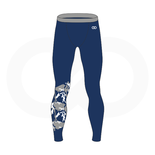 Worcester Cowboys Compression Tights