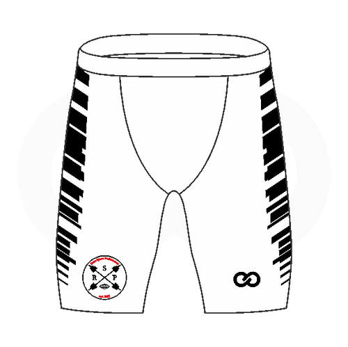 RSP Compression Shorts - White