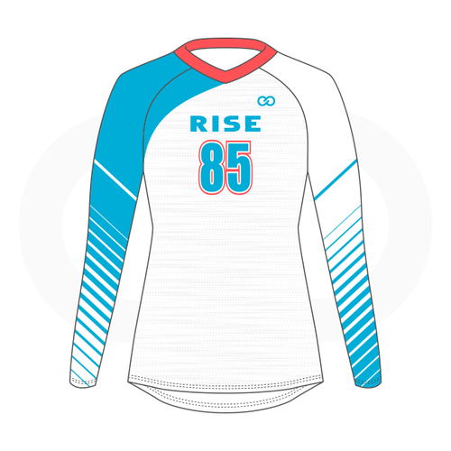 Rise Volleyball Jersey - White