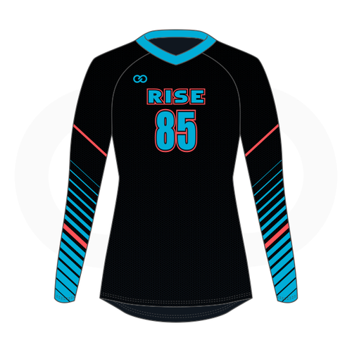 Rise Volleyball Jersey - Black