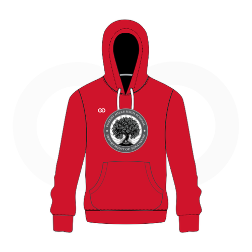 Forest Hills Red Hoodie