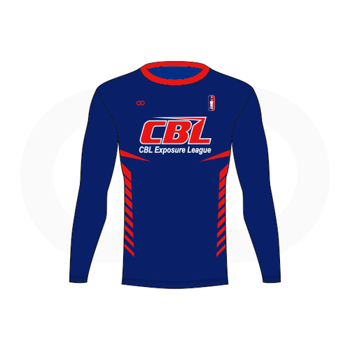 CBL Hoops Long Sleeve Compression Shirt