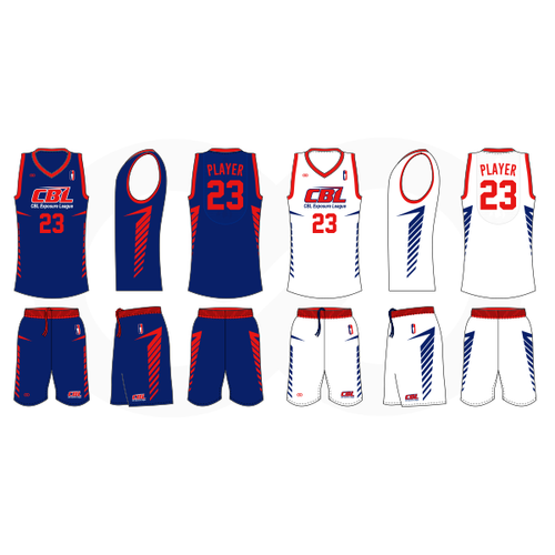 CBL Hoops Reversible Basketball Uniform