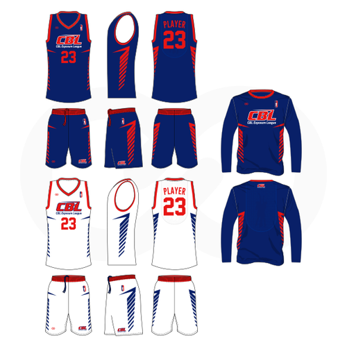 CBL Hoops Reversible Basketball Uniform w/ Shirt