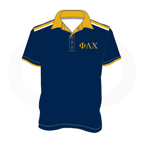 Phi Lambda Chi Polo Shirt (Option 1)