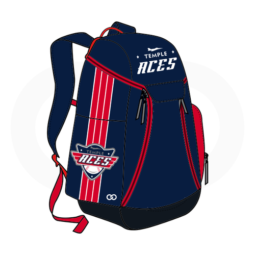 Temple Aces Backpack - Navy