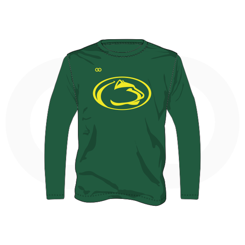 Panthers Basketball Long Sleeve T-Shirt - Green