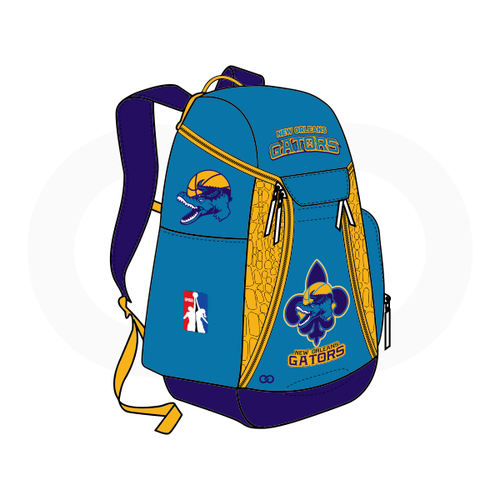 NOLA Gators Backpack Teal