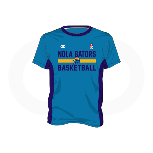 NOLA Gators Teal Shooting Shirt