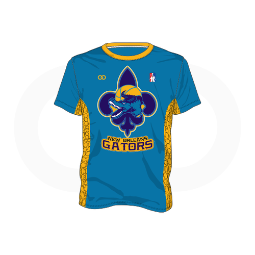 NOLA Gators Teal T-Shirt (Option 2)