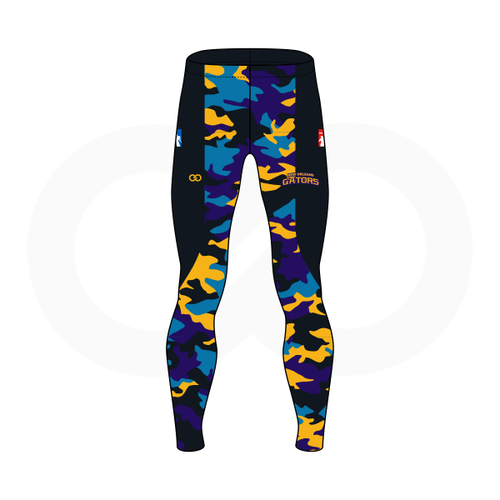 NOLA Gators Full Length Compression Pant
