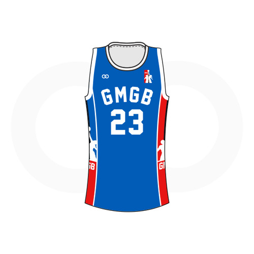 GMGB Reversible Basketball Jersey