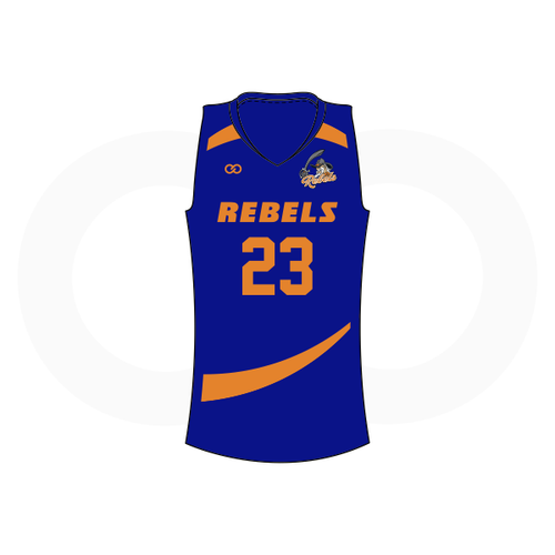 Tolsia Rebels Alternate Basketball Jersey