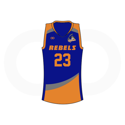 Tolsia Rebels Away Basketball Jersey