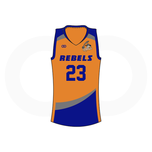 Tolsia Rebels Home Basketball Jersey