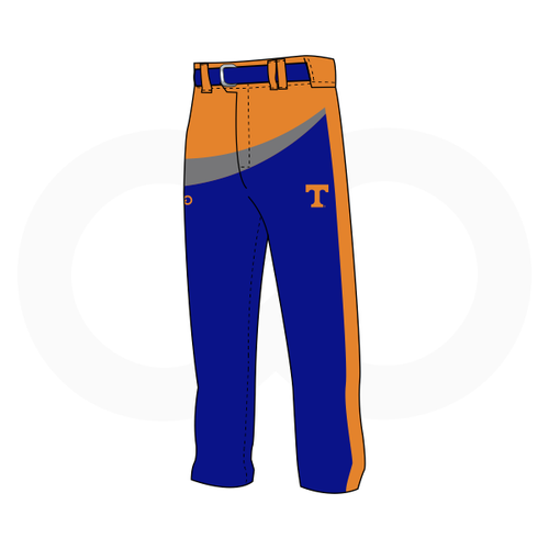 Tolsia Rebels Home Baseball Pants