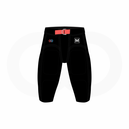 Youth Football Pants Sizing Kit