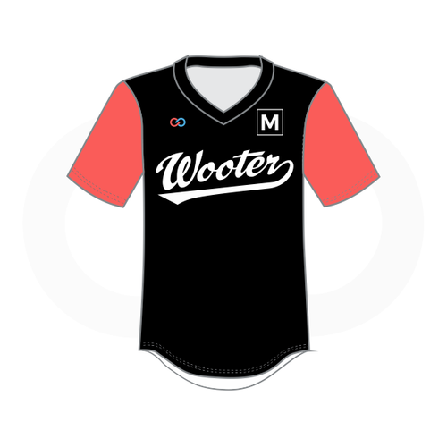 Women's V Neck Baseball Jerseys