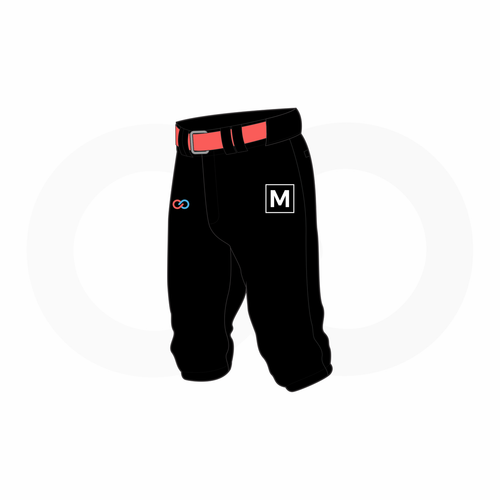 Women's 3/4 Length Baseball Pants