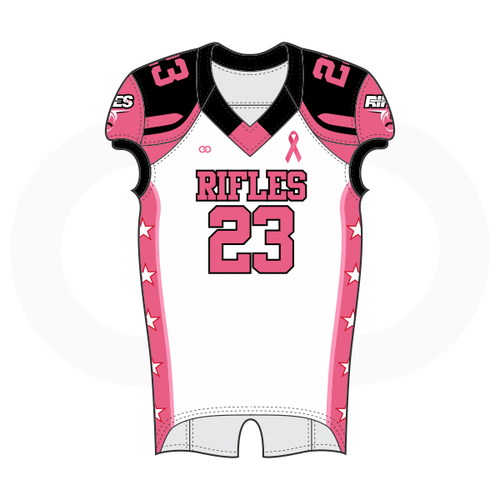 Springfield Rifles Football Jersey BCA - White