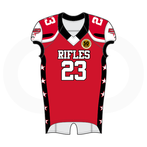 Springfield Rifles Football Jersey - Red