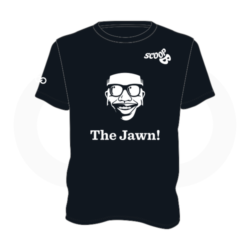 Scoop B Radio 'The Jawn!' Black T-Shirt