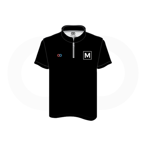 Men's Bowling Zip Shirt