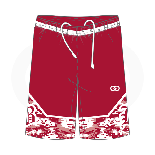 Hoosier Basketball Shorts Home